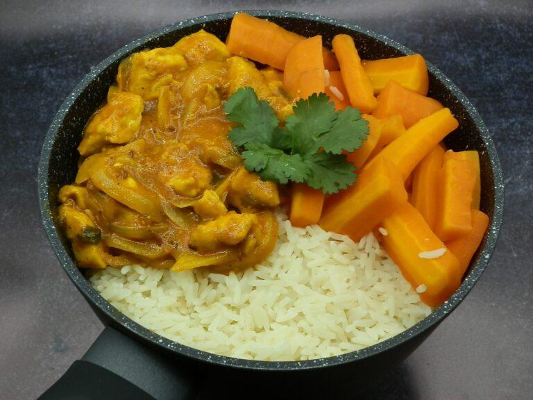 Image du poulet curry coco
